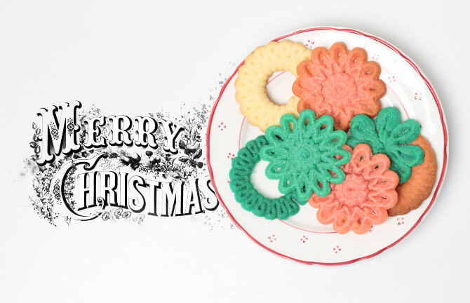3D Printed Christmas cookies